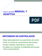 SINTONÍA MANUAL  Y ADAPTIVA