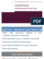 1. AC. Nutrition - Water and Electrolytes.pptx