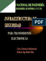 Infraestructura de seguridad