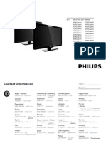 Electronic User Manual Philips 32pfl5604