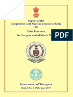 CAG report on Telangna