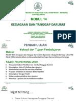 07. Modul 14. Kesiagaan Dan TD