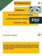 CONTABIL 2 - SEMANA 7 - DISTRIBUCION DE UTILIDADES (1).pptx