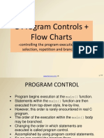 c Programming Program Controls