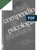 Calvin S. Hall Compendio de Psicologi_a Freudiana