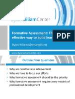 Wiliams Workshop Formative Assessment