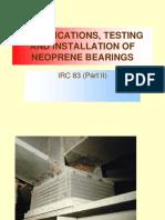 Testing of NEOPRENE Bearings SKG (1)