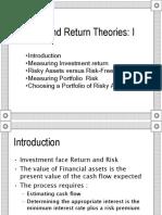 Risk and Return Theories (Financial Management - Manajemen Keuangan)
