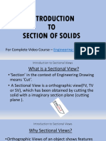 Introduction to Section of Solids