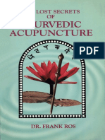 336707686 Frank Ros the Lost Secrets of Ayurvedic Acupuncture
