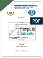 Ejercicios Bernoulli