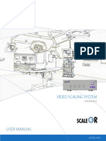 ScaleOR User Manual