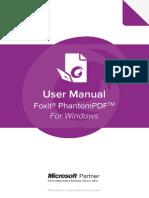 FoxitPhantomPDF9.7 Manual