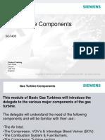 Gas Turbine Components SGT400 Siemens