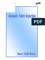 Automatic Fabric Inspection
