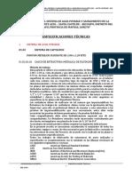 4.- ESPECIFICACIONES TECNICAS ADICIONAL N° 01 - DIAMANTE AZUL