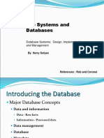 File System and Databse