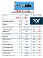 All india govt jobs