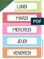LCDL - Etiquettes Date Le Loup Qui Voulait