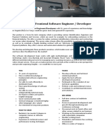 Frontend Software Engineer