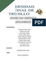 Informe de Seminario de Algodonero