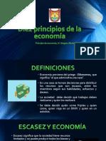 principios d economía