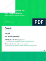 SUSE for SAP - Overview