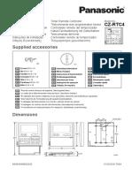 Installation for Cz-rtc4 Installation