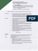 SK Tim Pemantau Dan Evaluasi Kawasan Tanpa Rokok