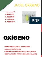 Grupo 2 Quimica Inorganica Familia Del Oxigeno