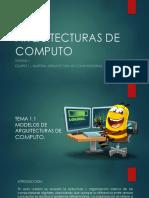 Arquitecturas de Computo