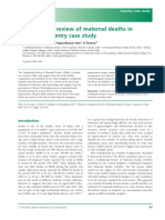 Dr Paily confidential review into matenal deaths