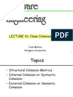 coupling and cohesion implements object oriented in software engineering