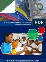 Instruccion No. 20  El Hacer y El Saber CRA .pdf