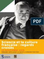 Programme Sciascia