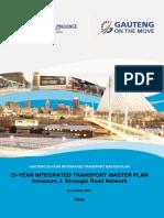 Gauteng 25-Year Integrated Transport Master Plan