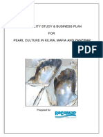 Feasibility Study and Business Plan Pearl Culture