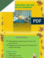 Stress hospitalisasi