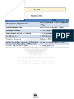 IIFT Form-Filling Guidelines