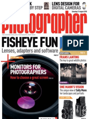 Amateur Photographer 21 August 2010 | Digital Single Lens