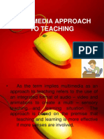 Multimedia Approach to Teaching