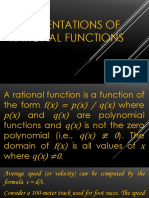 7 Representations of Rational Functions
