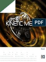Kinetic Metal Manual English