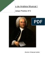 Trabajo Practico N°2 - Análisis musical I
