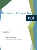 Aol Concurrent Program Types