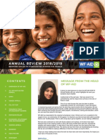 WF-AID Annual Review 2018/19