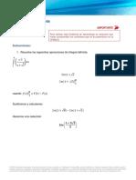 Tarea de Calculo Integral Definida