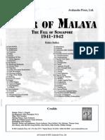 Tiger of Malaya Rules With Errata