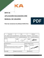 MTR V8 Aplicación Soldadura SRE (Manual de Usuario)