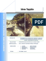 Informe Topografico Cra